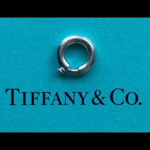 NEW Tiffany & Co. Sterling Silver Charm Jump Ring